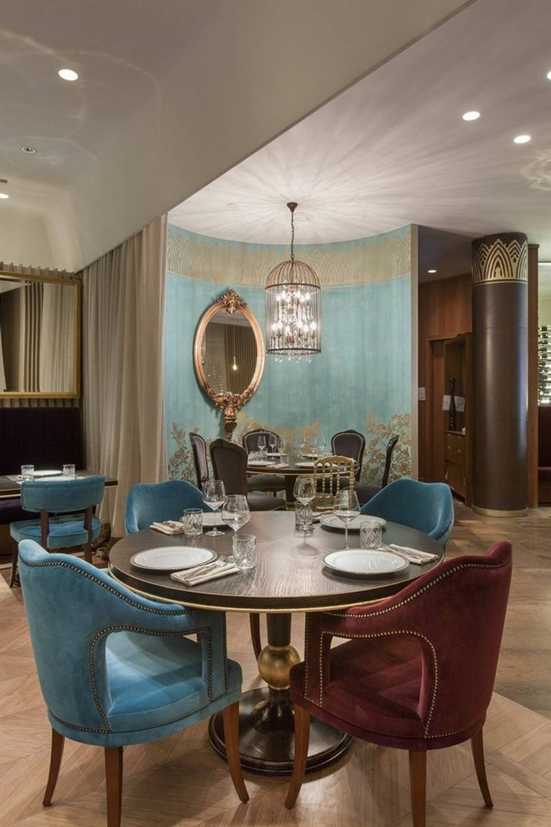 The Stunning Sideboards In Russian Restaurant Cococo Pertaining To Restaurant Sideboards (#13 of 15)