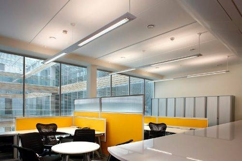 Tips For Designing An Office | Office Lighting, Lights And Window Wall  Throughout Current Office