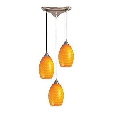 Titan Lighting – Orange – Pendant Lights – Hanging Lights – The With Regard To 2018 Orange Pendant Lights (#14 of 15)