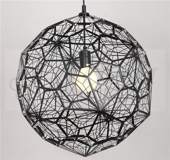Tom Dixon Black Etch Web Pendant – Product – Contemporary Lighting Pertaining To 2018 Tom Dixon Etch Web Pendants (#12 of 15)