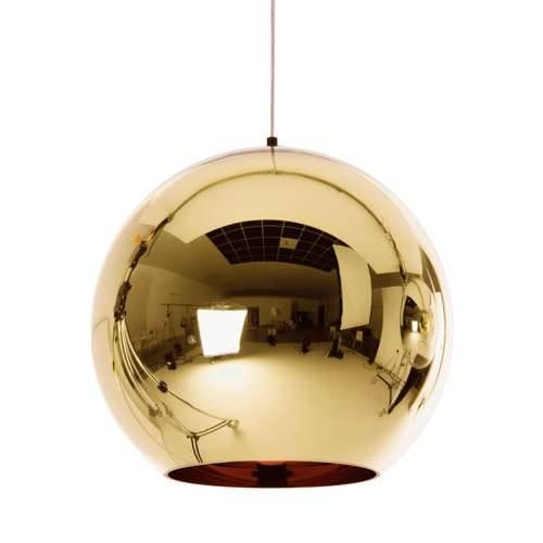 Tom Dixon Copper Shade Pendant Light | Ylighting With 2017 Tom Dixon Copper Shade Pendants (#15 of 15)