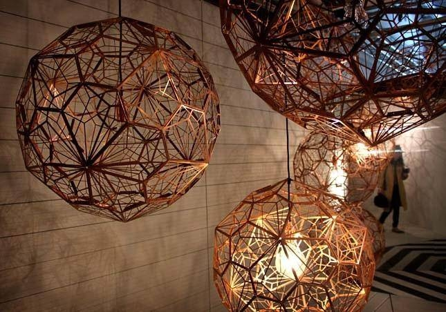 Tom Dixon Lighting Etch | Roselawnlutheran With Latest Tom Dixon Etch Web Pendants (#14 of 15)