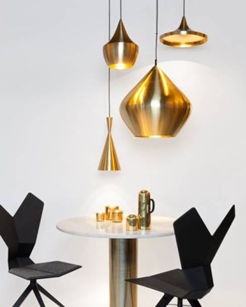 Tom Dixon Pendant Lights | Beat Fat Pendant In Brass Within Most Current Tom Dixon Brass Pendants (#13 of 15)