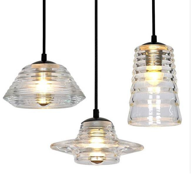 Tom Dixon Pressed Glass Bowl Pendant Lighting 7668 : Browse With Regard To Most Up To Date Glass Bowl Pendant Lights (#15 of 15)