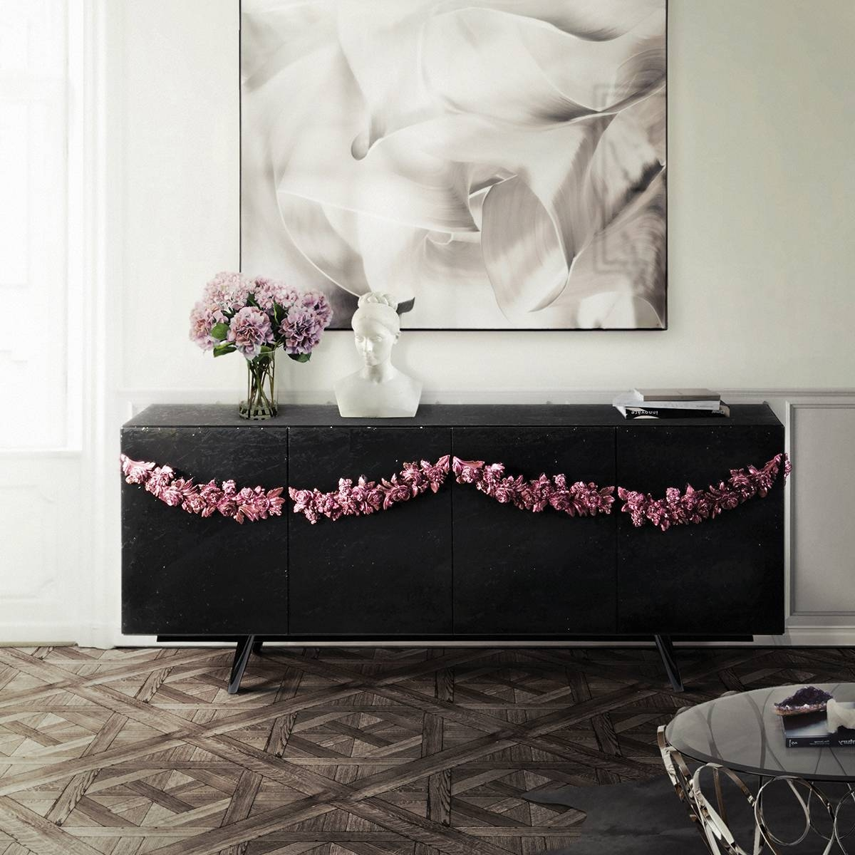 Top 20 Modern Sideboards Throughout Purple Sideboards (#15 of 15)