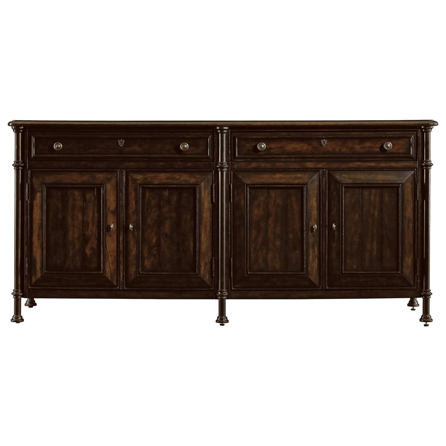 Traditional Buffet Tables & Sideboards | Homeclick Within Santa Fe Sideboards (#14 of 15)