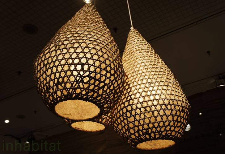 Tucker Robbins Transforms Indonesian Fishing Baskets Into For Best And Newest Beautiful Pendant Lights (#14 of 15)
