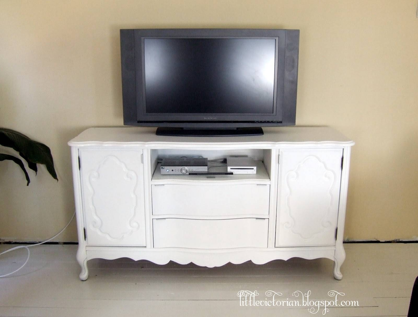 Inspiration about Ugly Old Sideboard To Tv Stand – Little Victorian Regarding Sideboards And Tv Stands (#1 of 15)