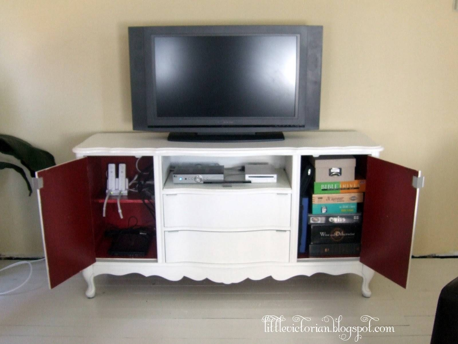 Ugly Old Sideboard To Tv Stand – Little Victorian With Sideboards And Tv Stands (View 12 of 15)