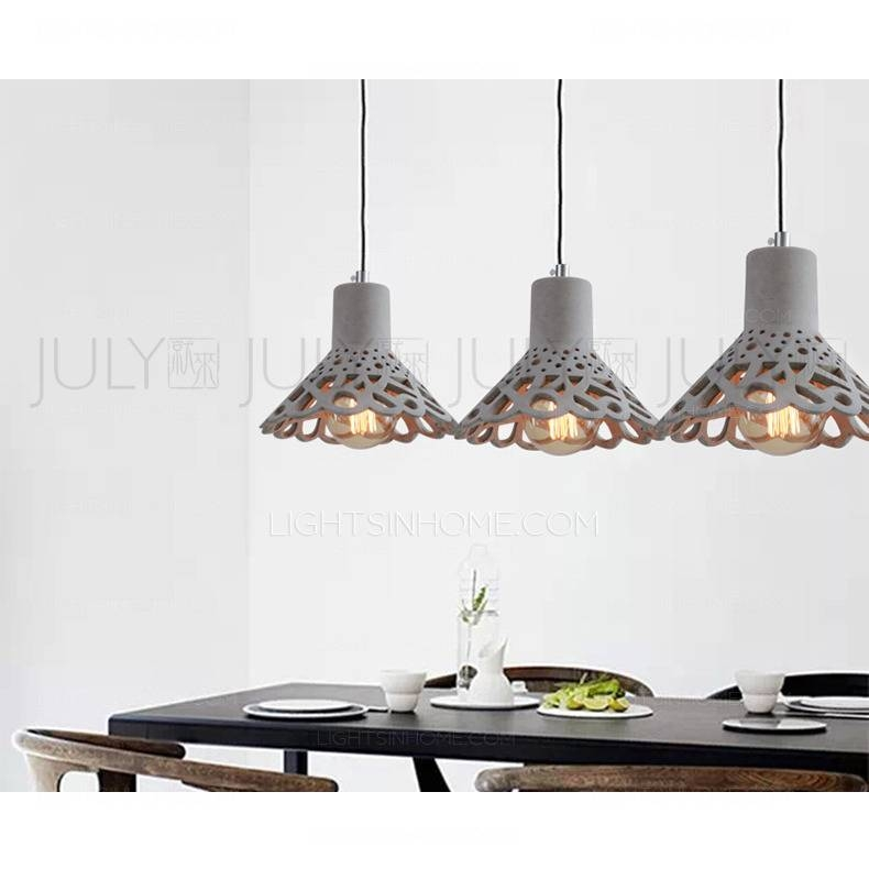 Inspiration about Unique Hanging Stone Hollow Design Modern Mini Pendant Light One Piece Within Most Recent Stone Pendant Lights (#13 of 15)