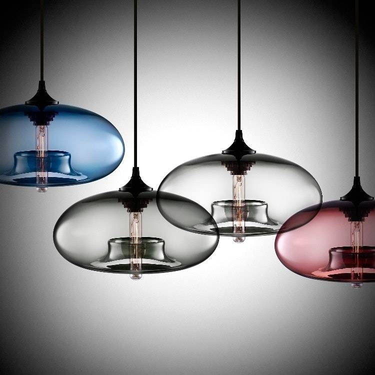 Inspiration about Unusual Pendant Light And Designer Glass Shades Beautiful With Intended For Newest Unusual Pendant Lighting (#7 of 15)