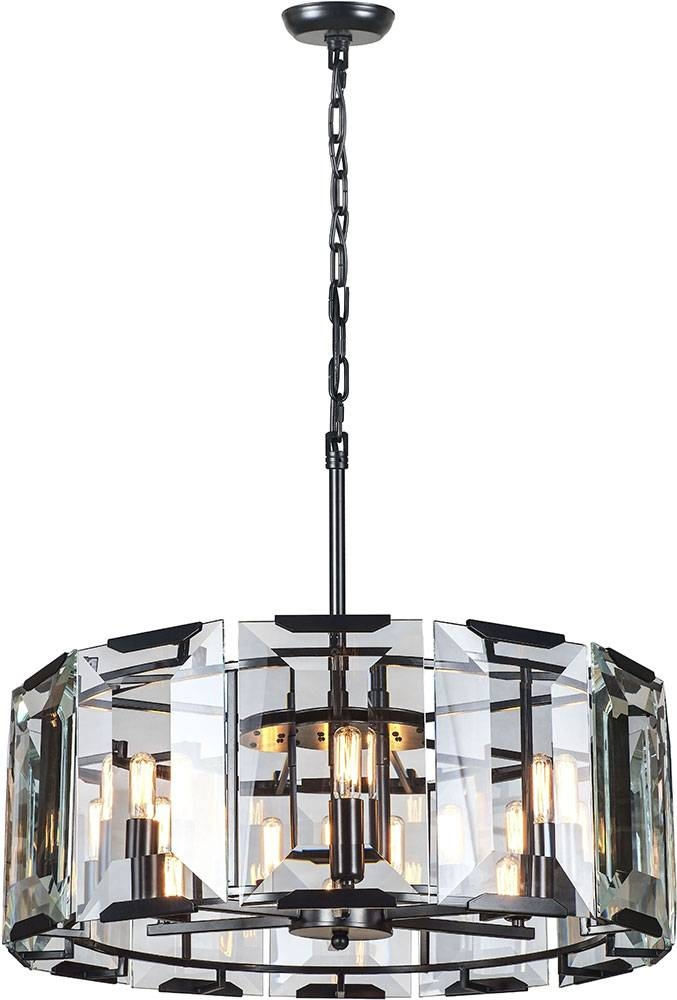 Inspiration about Urban Classic 1211D26Fb Monaco Flat Black (Matte) Pendant Light Pertaining To Most Up To Date Classic Pendant Lights (#14 of 15)
