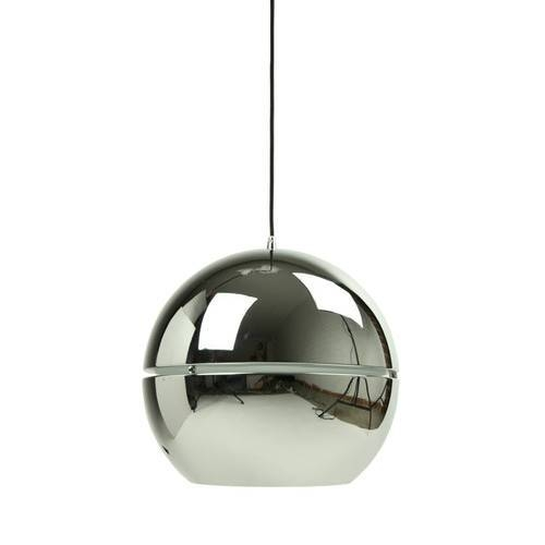 Inspiration about Vibeke Premium Mirror Ball Pendant Light In Chrome | Temple & Webster Within Latest Chrome Pendant Lights (#13 of 15)