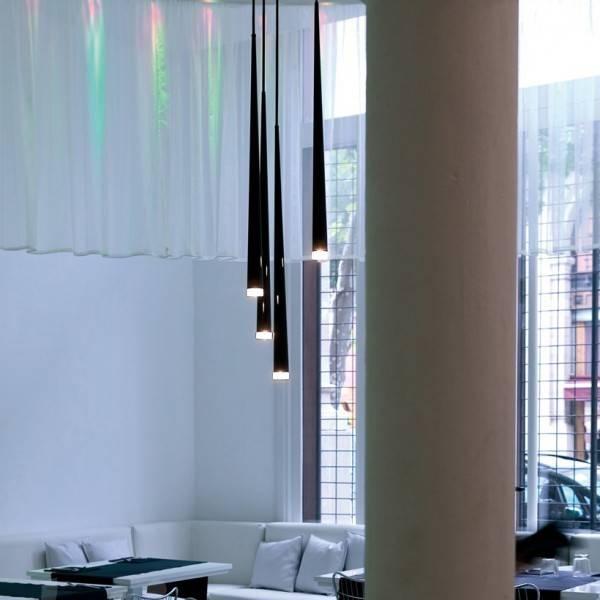 Inspiration about Vibia Slim 0915 Pendant Lamp, 4 Pendants – Siljoy Lighting Within Latest Vibia Slim Pendants (#13 of 15)