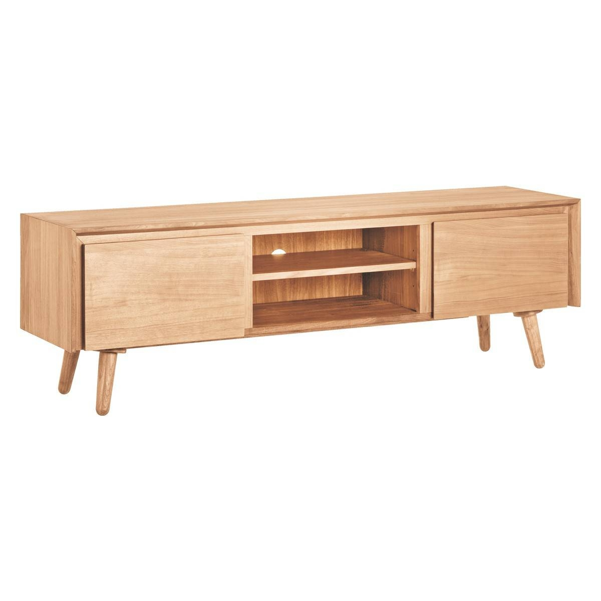 Inspiration about Vince Oak Large Av Unit | Buy Now At Habitat Uk In Habitat Sideboards (#2 of 15)