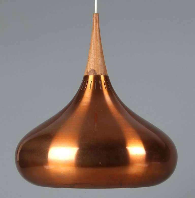 Inspiration about Vintage Danish Pendant Lights Style Mid Century Modern Copper Inside 2017 Danish Pendant Lights (#14 of 15)