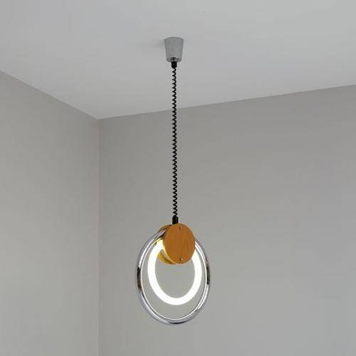 Inspiration about Vintage Pendant Lamp With Fluorescent Circular Tube For Sale At Pamono Within Most Recent Circular Pendant Lights (#12 of 15)
