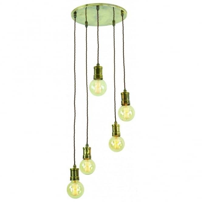 Vintage Style Lights With Filament Bare Bulbs Edison Range Of In Bare Bulb Cluster Pendants (View 15 of 15)