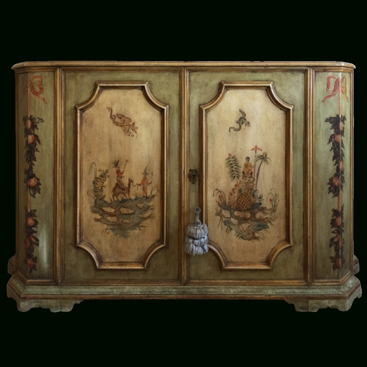 Inspiration about Viyet – Designer Furniture – Storage – Vintage Painted French With Regard To Chinoiserie Sideboards (#11 of 15)