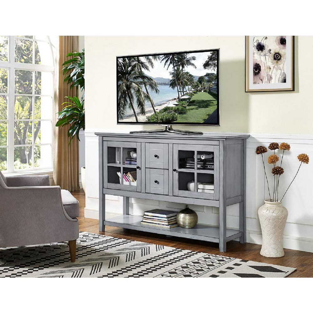 Walker Edison Furniture Company 52 In (#14 of 15)