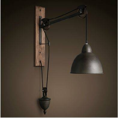 Wall Lights Design: Modern Wall Pendant Light With Lamp Hanging With Regard To Best And Newest Pendant Wall Lights (#11 of 15)