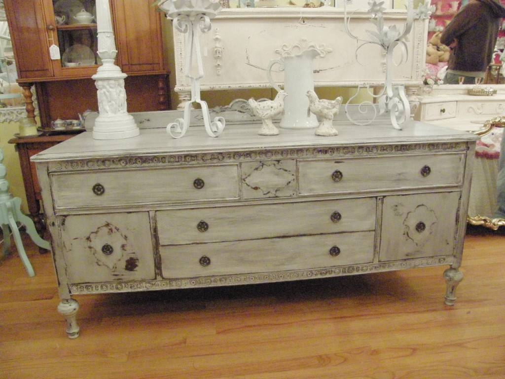 White Distressed Buffet Sideboard — New Decoration : Distressed For White Distressed Finish Sideboards (#13 of 15)