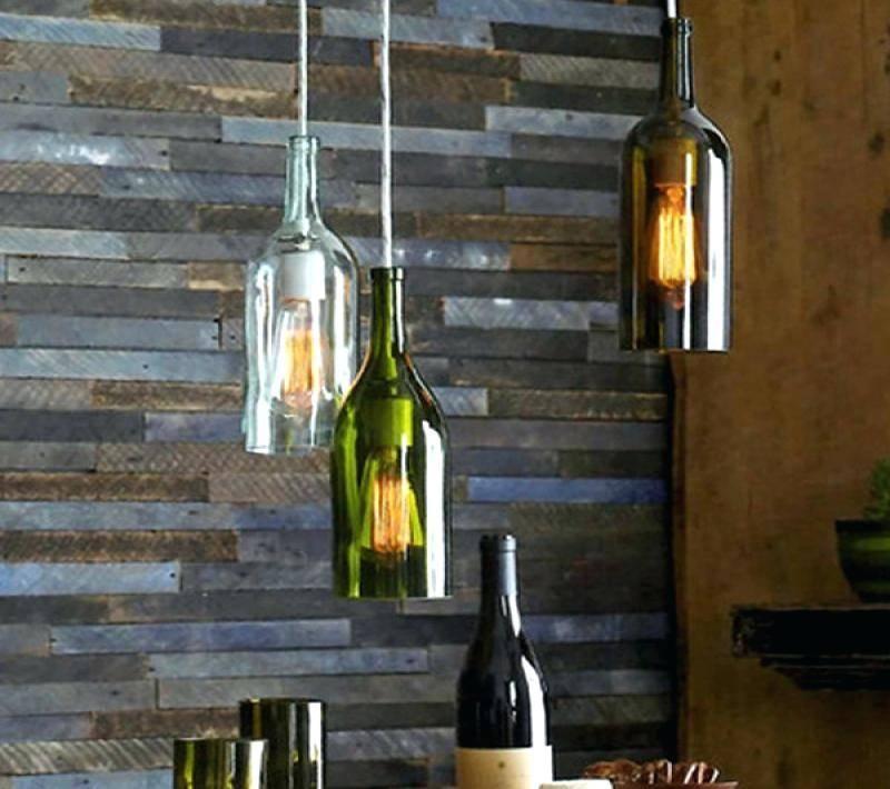Wine Bottle Pendant Light Kit Inspiration Uk Lamp – Runsafe Intended For Wine Bottle Pendant Light (View 15 of 15)