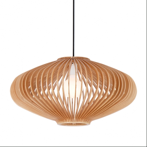 15 Collection Of Timber Pendant Lights