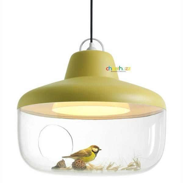 Yellow Black White Creative Diy Vase Pendant Lamp Acrylic Ceiling Regarding Most Popular Yellow Pendant Lights (View 13 of 15)
