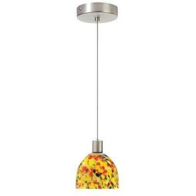 Yellow – Pendant Lights – Hanging Lights – The Home Depot Within 2017 Yellow Pendant Lights (View 9 of 15)