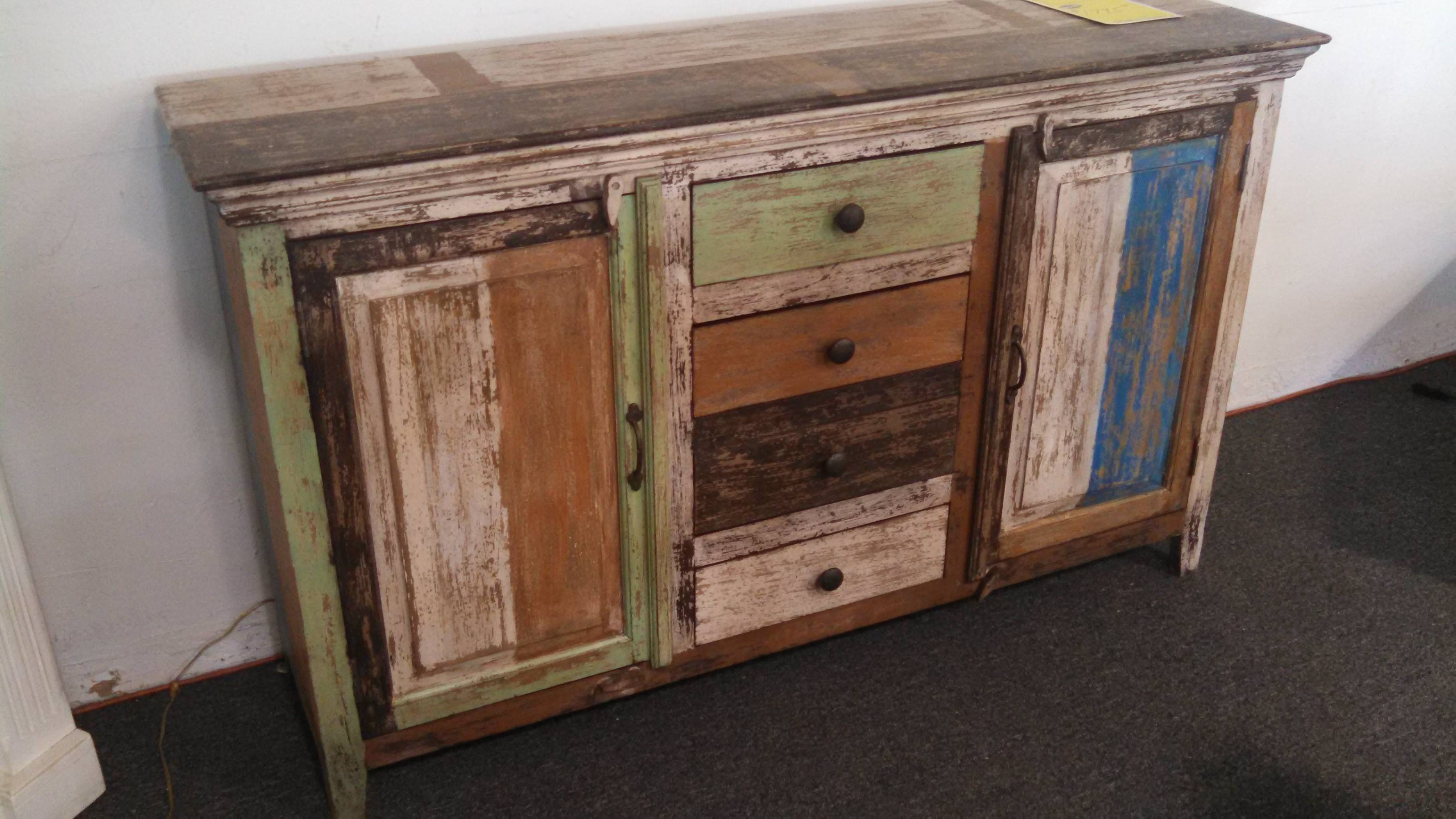 15 best ideas of distressed wood sideboards for All home decor furniture