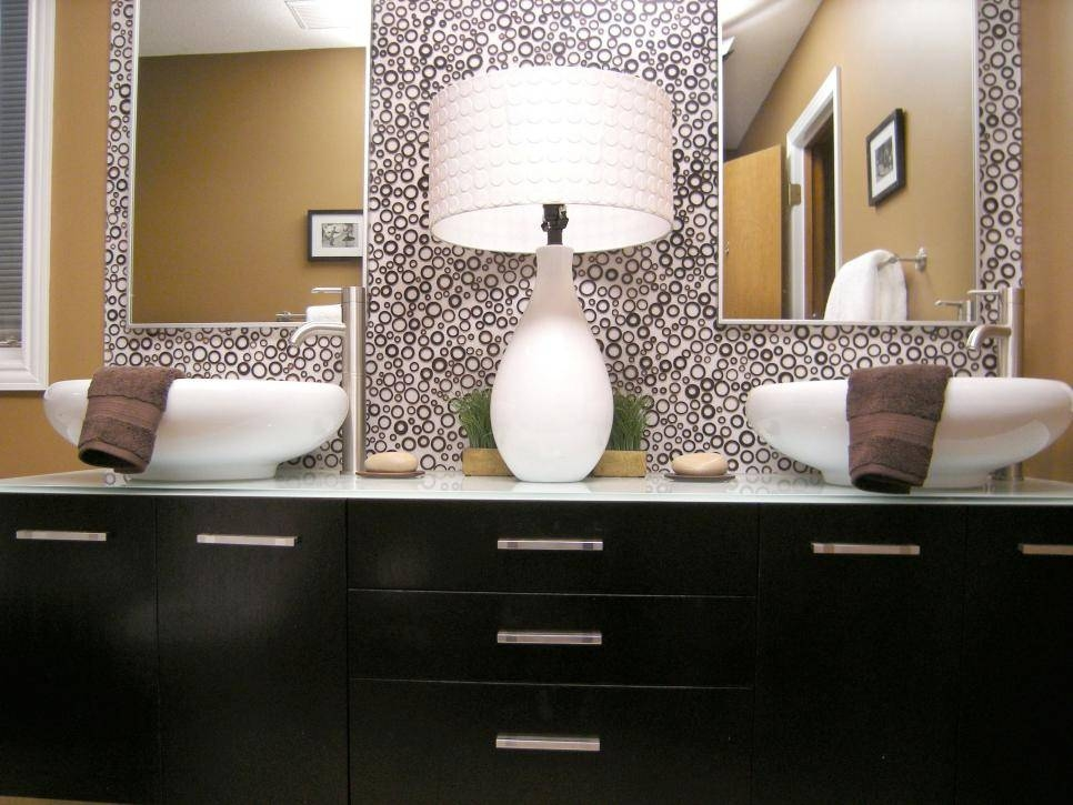 10 Beautiful Bathroom Mirrors | Hgtv Throughout Bathroom Mirrors Ideas With Vanity (#1 of 15)
