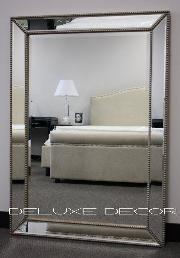 Inspiration about 10 Best Dd – Large Mirrors Images On Pinterest | Large Wall Intended For Large Silver Framed Wall Mirror (#1 of 15)