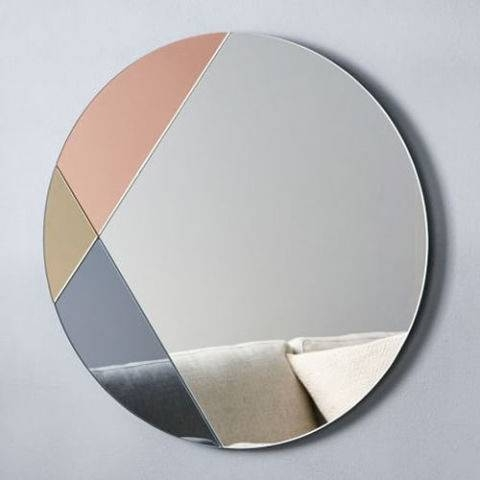 Inspiration about 10 Best Decorative Round Mirrors 2017 – Round Wall Mirrors Under $300 With Frameless Round Wall Mirrors (#10 of 15)