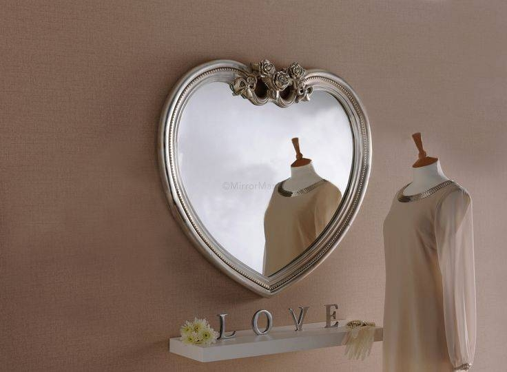 Inspiration about 10 Best Oval Mirrors Images On Pinterest | Wall Mirrors, Mirror Within Heart Shaped Wall Mirrors (#6 of 15)