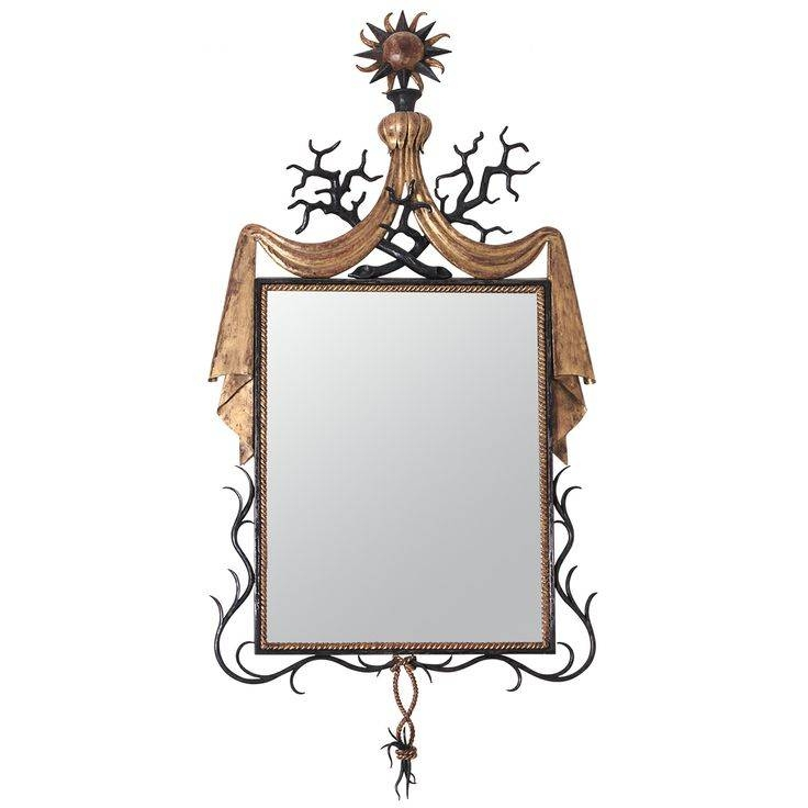 100 Best Mirrors – Wrought Iron Images On Pinterest | Wrought Iron Pertaining To Gilbert Wall Mirrors (#1 of 15)