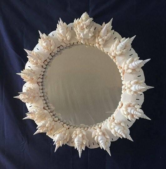 Popular Photo of Seashell Wall Mirrors