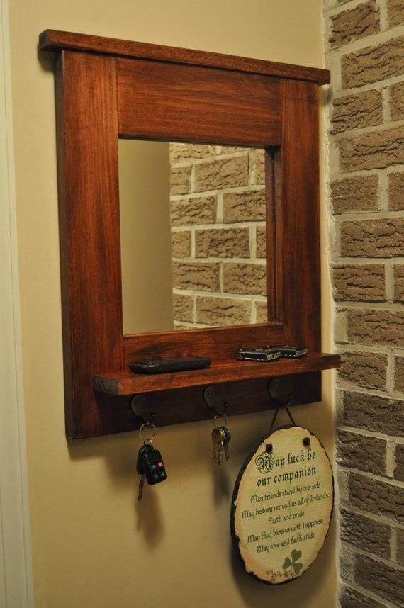 15 Best Of Wall Mirror With Coat Hooks