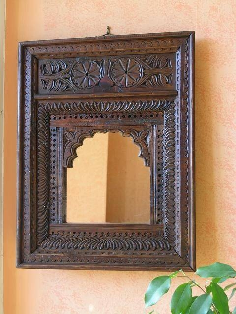 Inspiration about 113 Best Indian Mirrors Images On Pinterest | Mirrors, Dark Wood Pertaining To Decorative Wooden Mirrors (#8 of 15)