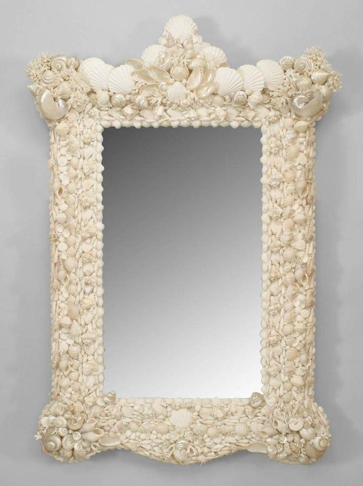 Inspiration about 12 Best Grotto Images On Pinterest | Antique Furniture, Venetian With Seashell Wall Mirrors (#10 of 15)