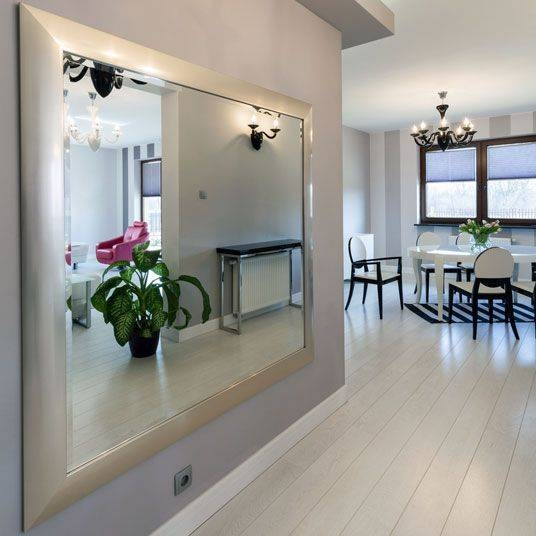 12 Best Silver Frames For Mirrors Images On Pinterest | Silver With Large Silver Framed Wall Mirror (#2 of 15)