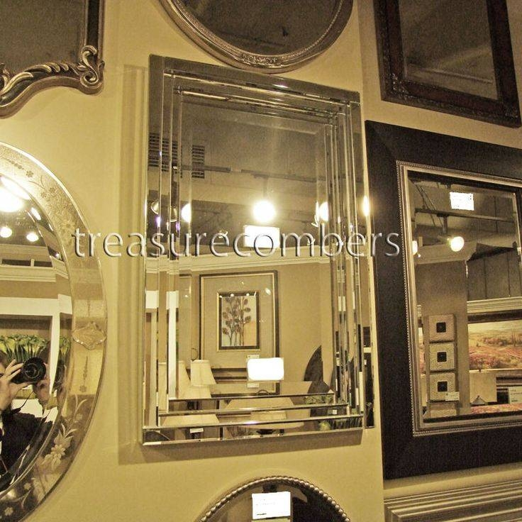 Inspiration about 121 Best Mirrors Images On Pinterest | Mirrors, Vanities And Throughout Frameless Beveled Wall Mirrors (#15 of 15)