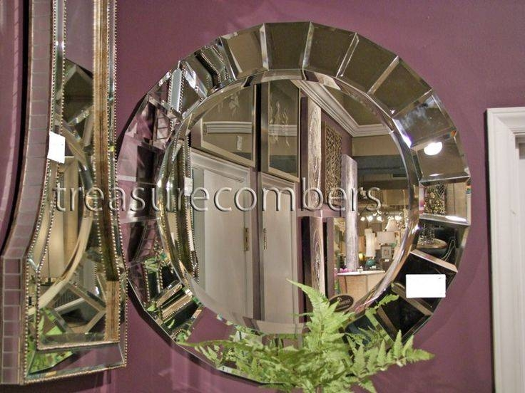 13 Best Mirrors Images On Pinterest | Wall Mirrors, Arches And Within Frameless Round Wall Mirrors (#2 of 15)