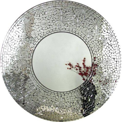 137 Best Mosaics With Mirrors Images On Pinterest | Mosaic Art With Regard To Glass Mosaic Wall Mirrors (#1 of 15)