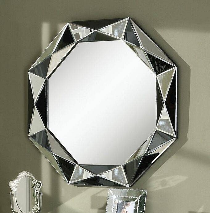 139 Best Mirrors Images On Pinterest | Mirrors, Cheval Mirror And Throughout Black And Silver Wall Mirrors (View 14 of 15)