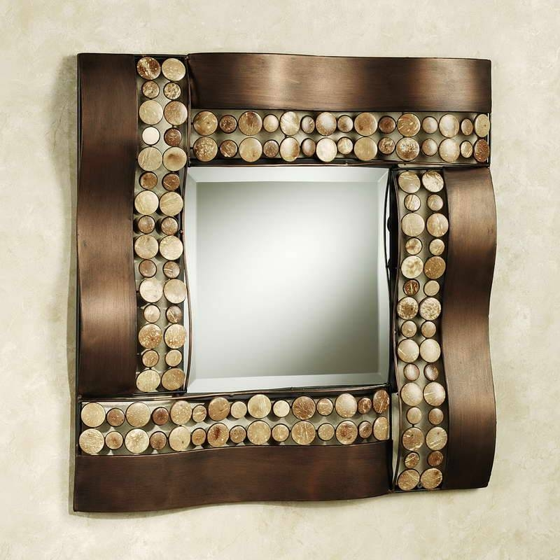 Inspiration about 15 Beautiful Wall Mirror Designs | Mostbeautifulthings Pertaining To Beautiful Wall Mirrors (#1 of 15)