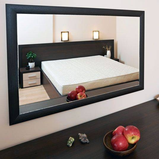 Inspiration about 15 Best Black Frames For Mirrors Images On Pinterest | Black In Large Black Framed Wall Mirrors (#14 of 15)