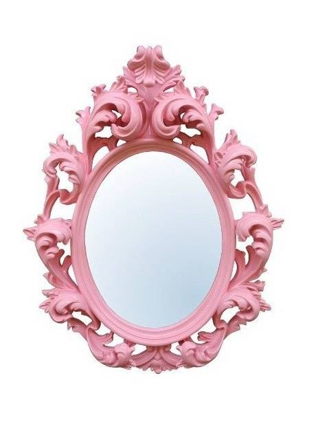 167 Best Mirrors Images On Pinterest | Homes, Mirror Mirror And In Girls Pink Wall Mirrors (#1 of 15)