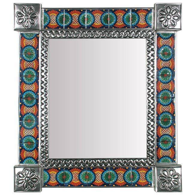 Inspiration about 17 Best Mexican Wall Mirrors – Metal, Wood & Tile Images On Inside Mexican Wall Mirrors (#2 of 15)