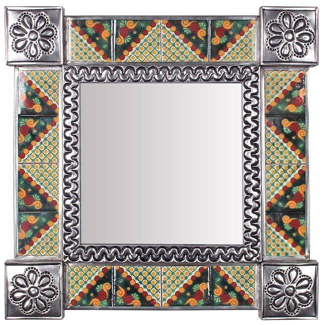 Inspiration about 17 Best Mexican Wall Mirrors – Metal, Wood & Tile Images On With Mexican Wall Mirrors (#12 of 15)